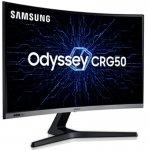 Monitor Gamer Curvo Samsung Odyssey 27 LC27RG50FQLXZD HDMI 240 Hz e 4ms Gsync Curvatura 1500