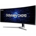 Monitor Gamer Curvo Samsung Odyssey 49 QLED LC49HG90DMLXZD HDMI 144 Hz Tela Super Ultra-ampla de 32