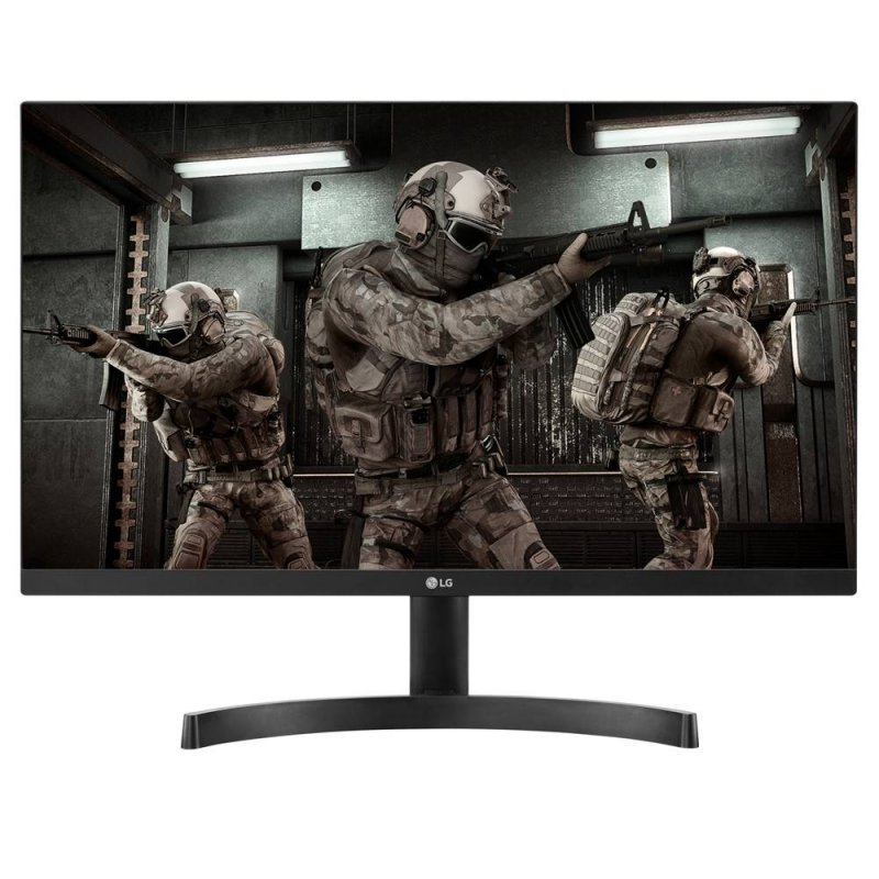 Monitor Gamer LG 23,8 24ML600M-BAWZ LED Full HD HDMI D-SUB Ajuste inclinação Preto