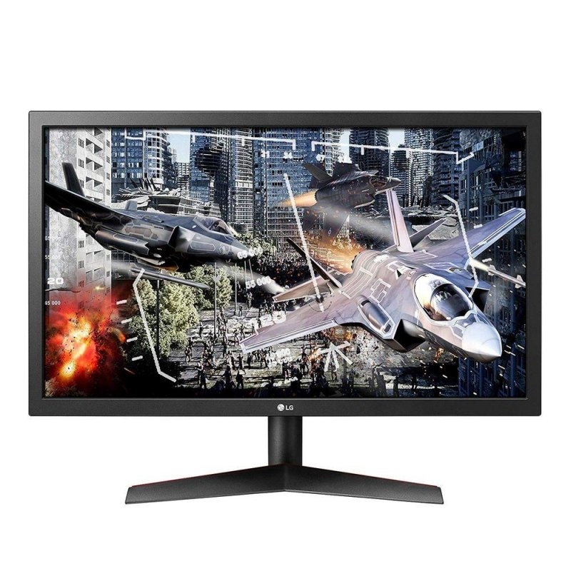 Monitor Gamer LG 24 Full HD 24GL600F-BAWZ MBR 1ms 144Hz Freesync Preto