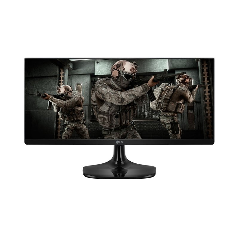 Monitor Gamer UltraWide LG 25 Full HD 25UM58G-PAWZ IPS 1ms MBR 75Hz Preto
