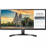 Monitor LG 29 UltraWide Full HD IPS com Screen Split 2.0 29WK500 Preto
