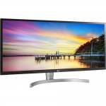 Monitor LG 34 UltraWide Full HD IPS HDR10 Screen Split 2.0 34WK650 Prata