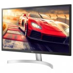 Monitor LG LED 27UL500 Widescreen UHD 4K HDR IPS HDMI Display Port Ajuste de Inclinação Preto