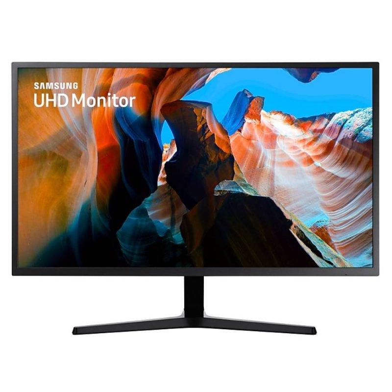 Monitor Samsung 31,5 UHD LU32J590UQLXZD HDMI AMD Freesync Inclinação Ajustável Cinza Escuro