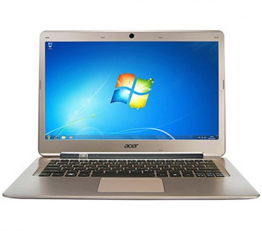 Ultrabook Acer Aspire S3-391-6632 / 13,3 / 4GB / 320GB / Windows 7 / Core i3 / Metálico