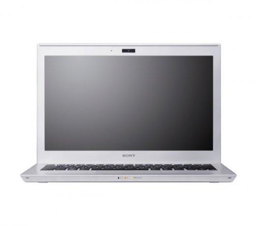 Ultrabook Sony VAIO SVT13115FBS / Prata / Core i5 / 13.3 LED / 4GB / 320GB / Windows 7