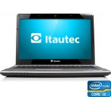 Notebook Itautec W7730 / IN-930 / Intel® Core i3 / 2GB / 500GB / 14'' / DVD-RW / Cinza Claro