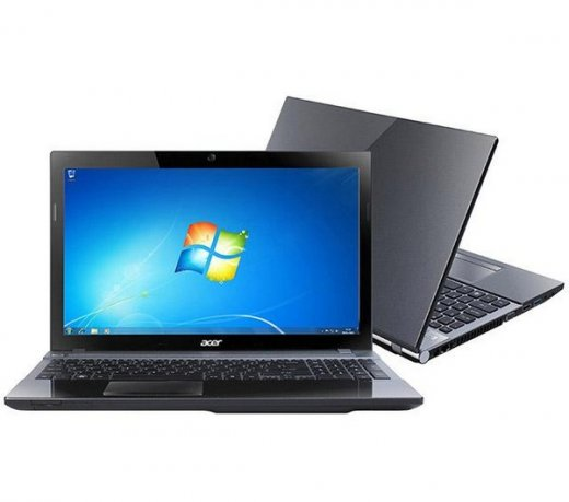 Notebook Acer Aspire V3-571-6812 / 15.6 / Core i3 / 6GB / 500 GB / Windows 7 / Wi-Fi / Grafite