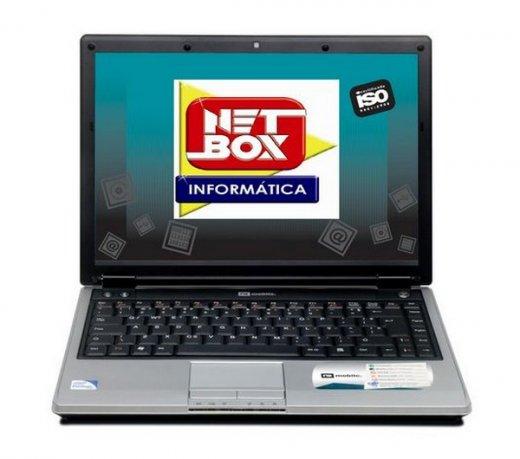 Notebook Netbox N3 / Dual Core / HD 250Gb / 2Gb / 14,1 / Windows 7 Starter Edition