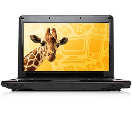 NOTEBOOK DUAL CORE 2GB 320GB 14 COM WINDOWS 7 PRETO ITAUTEC