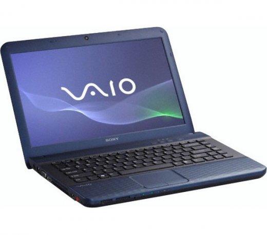 Notebook Sony Vaio,14 Processador Coretm I3, 4Gb e Hd de 500Gb,windows 7 Home Basic/Azul/bivolt