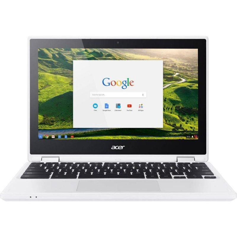 Chromebook Acer 11,6 HD CB5-132T-C5MD Celeron N3160 4GB Ram 32GB Memória Chrome OS Branco