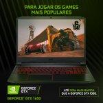 Notebook Acer Aspire Nitro 5 AN515-43-R4C3 AMD Ryzen 7 8GB 1 TB 128GB SSD 15.6