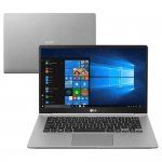 Notebook LG Gram 14 Windows 10 Home com Intel Core i5 geração 8 8GB DDR4 SSD 256