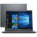 Notebook Positivo Motion Gray Q4128C-S Intel Atom 4GB 128GB eMMC 14,1  LED Windows 10