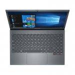 Notebook Positivo Motion Q Q464C Intel Atom Quad Core 4GB 64GB 14,1 LED Windows 10 Home - Gray
