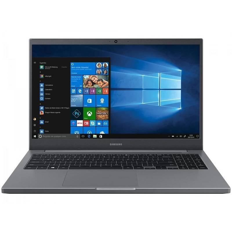 Notebook Samsung Book NP550XDA-KO1BR - Intel Celeron 4GB 500GB 15,6 u201D Full HD LED