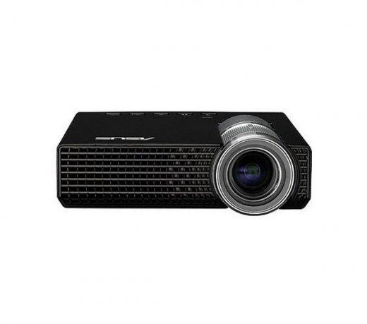 Projetor Multimídia Portátil P1 ASUS / LED / 200 Lumens / 1280x800 HD / Correção Tela