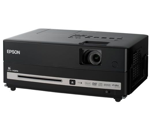 Projetor Multimídia Epson Powerlite Presenter L / DVD Player / Preto / Bivolt