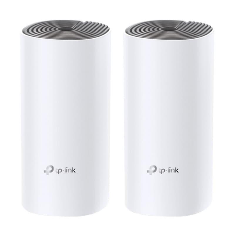 Roteador TP Link Deco E4 2 Pack AC1200 Branco Sistema Wi-Fi em Toda a Casa