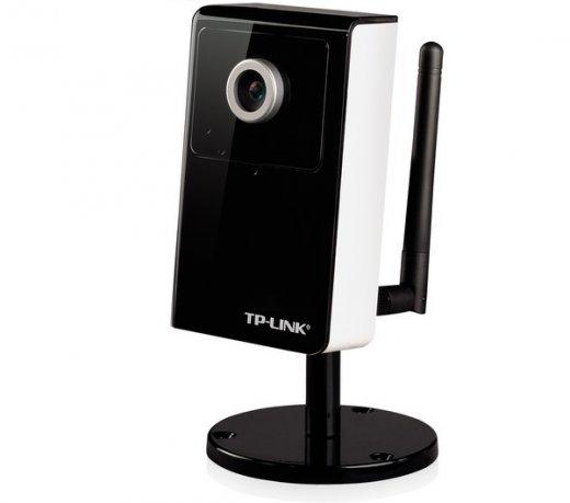 Câmera de vigilância TP-Link / Twireless 54Mbps / Áudio de 2 vias / Sensor CMOS / Preto
