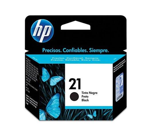 Cartucho / HP / HP21 / C9351BL / Preto / Caixa 1 Unidade