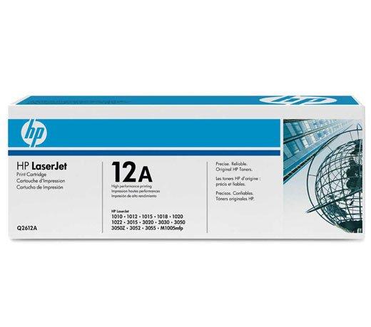 Cartucho / Toner / HP / LaserJet / Preto / Q2612A / Caixa 1 Unidade