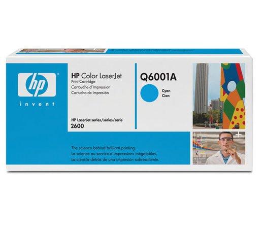 Cartucho / Toner / HP / Ciano / Q6001A / Caixa 1 Unidade
