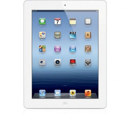 iPad 3 Apple / Wi-Fi / Tela Retina 9,7 / 64GB / Branco