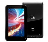 Tablet Multilaser Vibe / NB036 / 7/ Wi-fi / 4GB / Android 4.0 / Preto