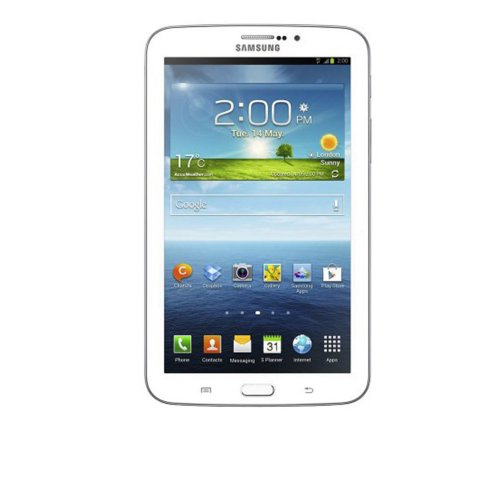 Galaxy Samsung Tab 3 7.0 SM-T2110 / Branco / Android 4.1 / Full Touch / 3.0 MP / 8GB / 3G / Wi Fi