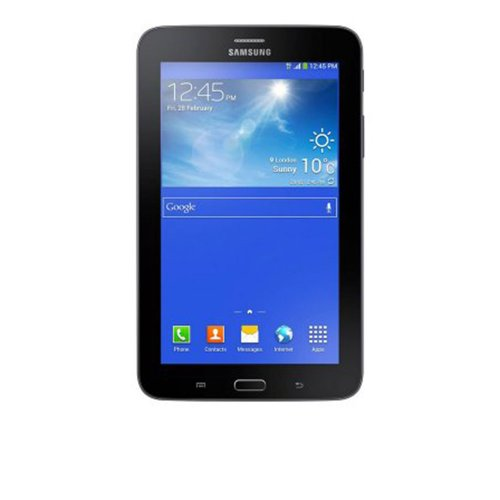 Galaxy Samsung Tab 3 7.0 SM-T2110 / Preto / Android 4.1 / Full Touch / 3.0 MP / 8GB / 3G / Wi Fi