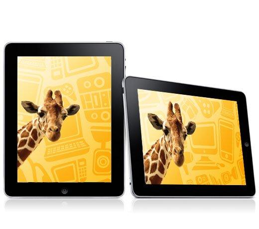 iPad Apple MC496 / 32GB / Wi-Fi / 3G