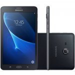 Tablet Samsung Galaxy Tab A Preto 8GB Tela de 7 4G Câmera de 5 MP Quad Core 1.5GHz T285M