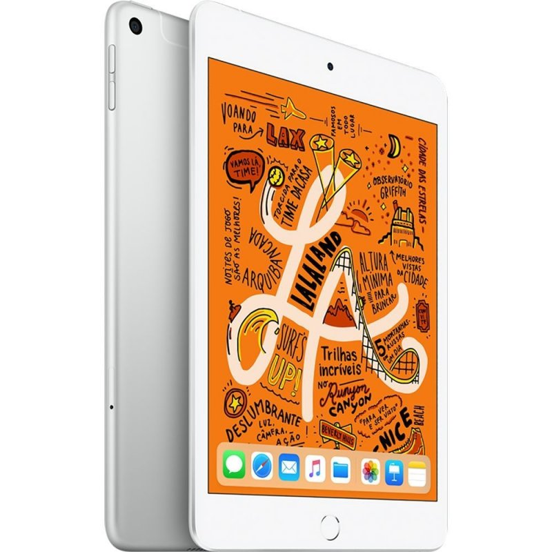 Apple iPad mini 4G-Cellular Tela 8 64GB Prata