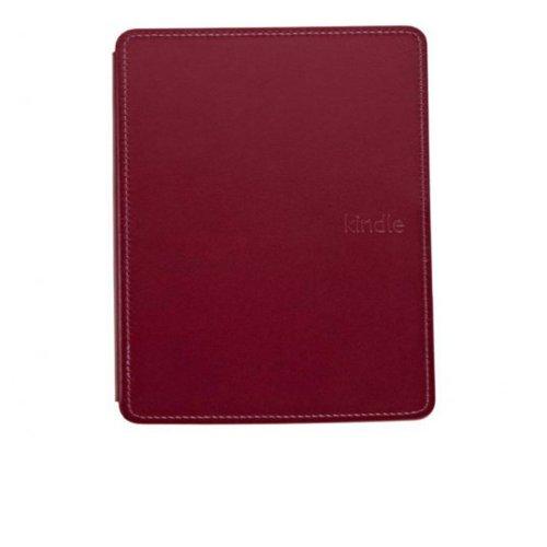 Capa de Couro para E-Reader Kindle Amazon 6 e Ink Vinho