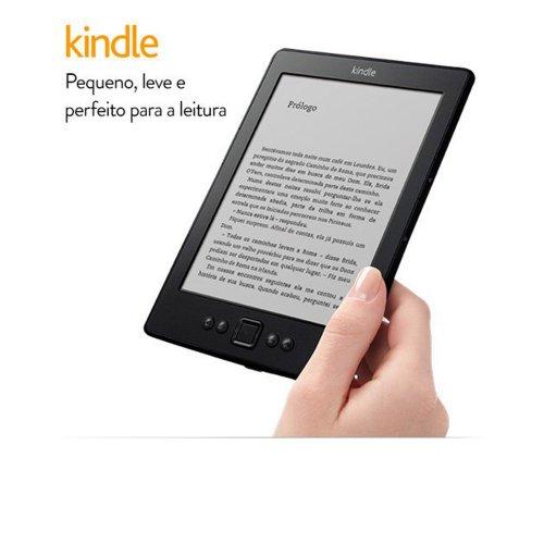 E-Reader Kindle / Amazon / Wi-Fi / Tela e Ink / 6 / Preto
