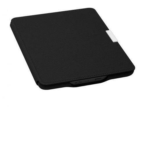 Capa de Couro para E-Reader Kindle Paperwhite Preta Amazon
