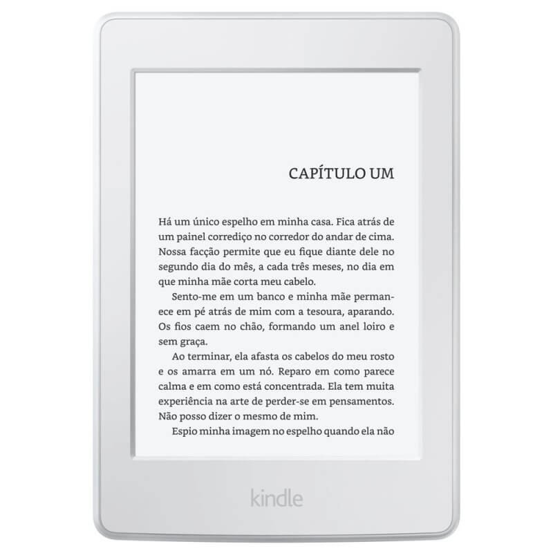 E-Reader Amazon Kindle Paperwhite Branco Tela de 6