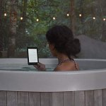 E-Reader Amazon Novo Kindle Paperwhite 32GB Wi-fi à Prova D Água Tela 6 Iluminação Embutida Preto