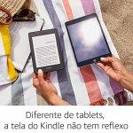 E-Reader Amazon Novo Kindle Paperwhite 8GB Wi-fi à Prova D Água Tela 6 Iluminação Embutida Preto