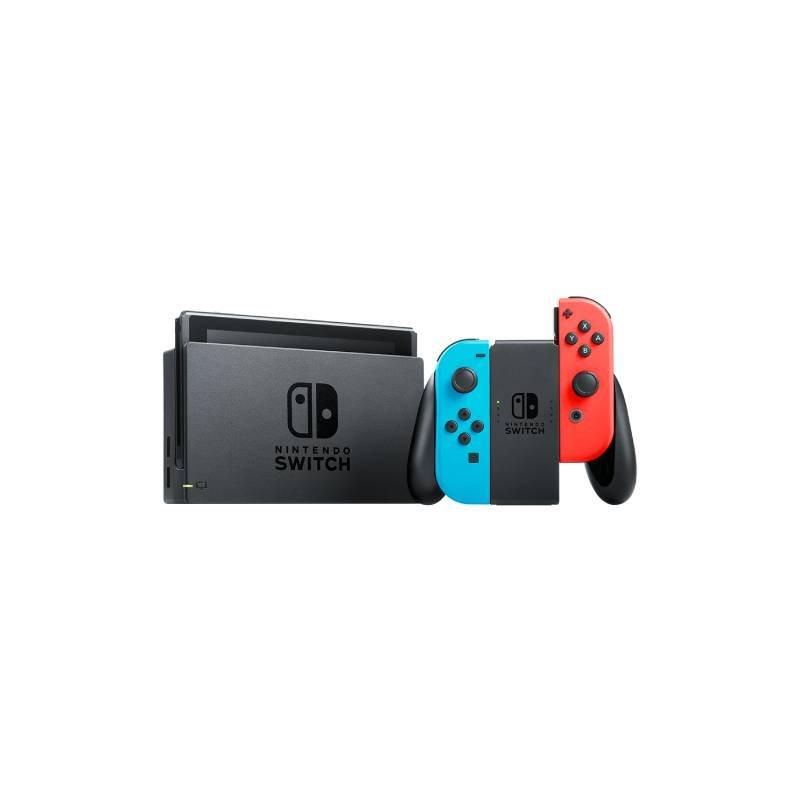 Console Nintendo Switch Vermelho e Azul 32GB com 1 Controle Joy Con