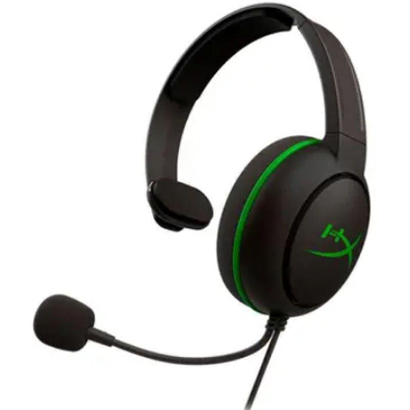 Fone de Ouvido Headset Gamer HyperX CloudX Chat Xbox Drivers 40mm Preto e Verde