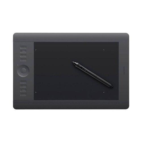 Mesa Digitalizadora Intuos 5 Médio PTH650L / Área Ativa 8,8x5,5 / USB / Preto