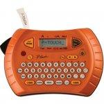 Rotulador Eletrônico Brother PT70 Portátil Funciona à pilhas com visor e Teclado Qwerty