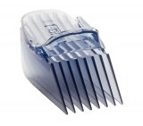 Aparador de Pelos Cut&Clean Arno VACU / Azul / 7 Pentes / Vacuum Technology / Lâmina Titânio / Bivol
