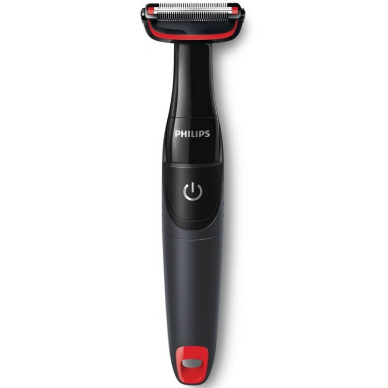 Aparador de Pelos Philips Bodygroom BG105/11 Preto e Vermelho Seco ou Molhado