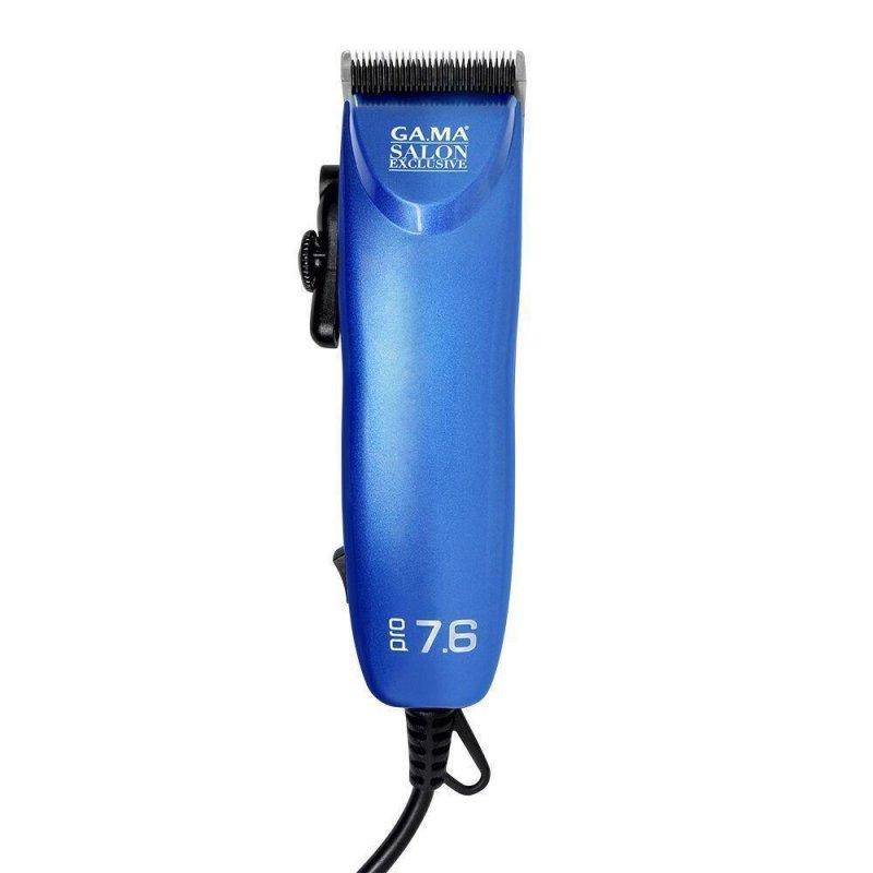 Máquina de Cortar Cabelo Gama Italy Pro 7.6 Azul 220V