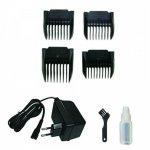Máquina de Corte Hair Clipper FT1 Bivolt com 4 Pentes de Corte
